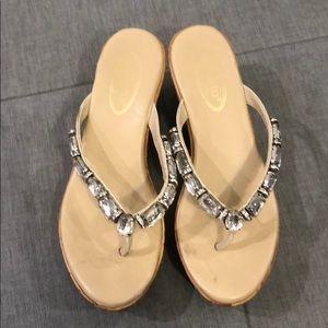 Callisto Platform Wedge Sandals